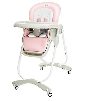 Metal High Feeding Chairs With Snack Tray For Babies