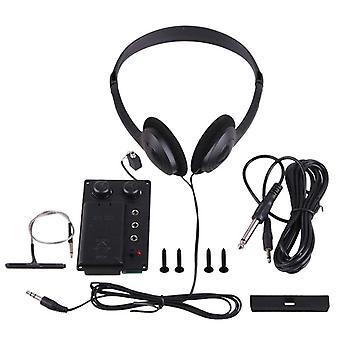 Electric Violin Silent Eq Pickup Piezo With Headphone And Plug Set