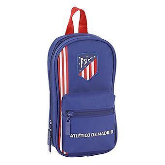 Backpack Pencil Case Atlético Madrid Navy Blue