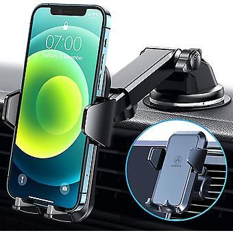 Wokex Handyhalterung Auto 3 in 1 Lftung & Saugnapf Stabil 100% Silikonschutz Handyhalter Frs