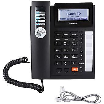 FengChun Kabelgebundenes Telefon Festnetztelefone Erweiterungsset mit groen Tasten Kabelgebundenes