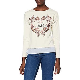 Springfield 1088823 T-Shirt, Beige, L Woman