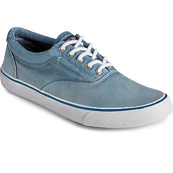 Sperry Striper Ii Cvo Ombre Mens Twill Trainers Navy