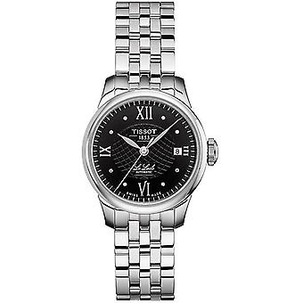 Tissot watch le locle automatic - certified diamonds indexes t41118356
