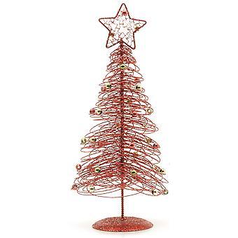 تسوق عيد الميلاد دوامة سلك الجدول أشجار عيد الميلاد الأعلى