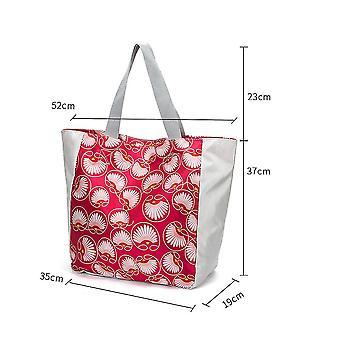 Uusi taitettava säilytys ostoskassi Supermarket Kannettava Päivittäistavarakaupan tote käsilaukku Suuri kapasiteetti ES9224