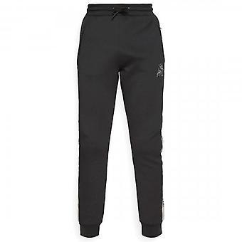 Kings Will Dream Dunwen Black/Grey Poly Jog Pants