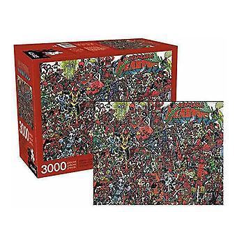 Vesimies Marvel Puzzle (3000kpl)