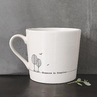 East Of India Porcelain Mug   Prosecco in Disguise Friendship Keepsake Gifts