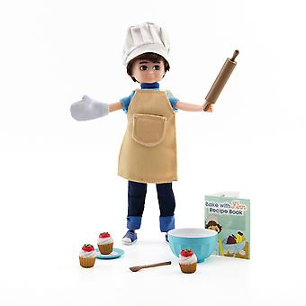Lottie Doll Cake Bake Pretend Play Unisex Kids Child Accessories Set Outfit