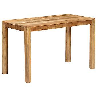 """vidaXL שולחן שולחן מנגו עץ מוצק 120 x 60 x 76 ס""""מ"""