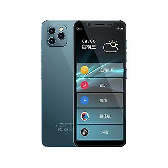 Erittäin ohut mini 4g lte älypuhelin k-touch m17 ram 2g / 3g rom 16g / 32g 4.8'' android dual sim face id google paly opiskelija matkapuhelin