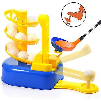 Toddler Golf Sæt til børn 4-8 år gamle Halloween jul Strømpe Stuffer Kids Udendørs Toysblue