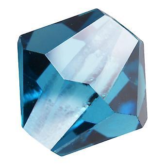 Preciosa Tšekin kristalli, Bicone Bead 6mm, 24 Pieces, Indicolite