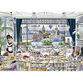 Ravensburger London Tea Party Jigsaw Puzzle (1000 Pieces)