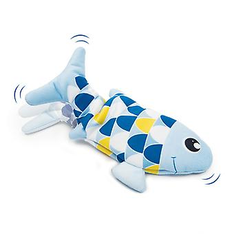 Catit Groovy Fish Blue (Cats , Toys , Plush & Feather Toys)