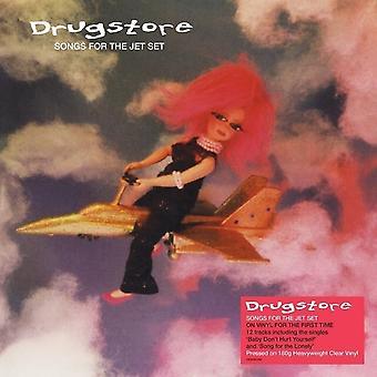 Drugstore - Songs For The Jet Set Clear Vinyl