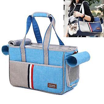 DODOPET Outdoor Portable Oxford Stoff Katze Hund Haustier Tragetasche Handtasche Schultertasche, Größe: 43 x 19 x