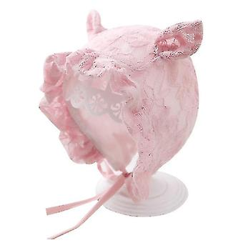 Lovely Baby Hat Soft Cotton Újszülött Beanie Téli Baba Kalapok 3,12 hónap (Lila)