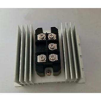 Generatoren spanning gelijkrichter / regelbrug toegepast voor e driewieler e auto