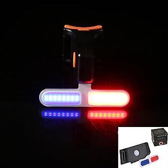 Modos de iluminação multi luz Luz de bicicleta Carga USB Flash Cauda Traseira Montanhas Bicicletas
