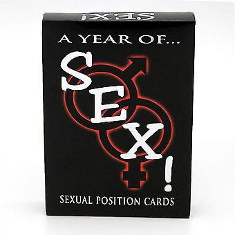 A Year Of Sex Adult New Sexual Position Play Cards