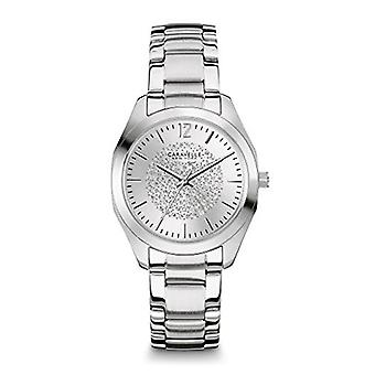 Caravelle New York Women's 43L179 Analog Display Analog Quartz White Watch