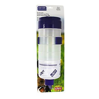 Lixit Quick Lock Flip Top Water Bottle with Valve - 32 oz
