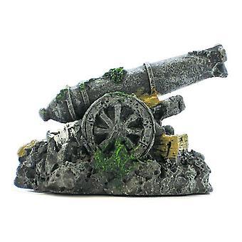 Penn Plax Mini Cannon Aquarium Decor - Mini Cannon Decor