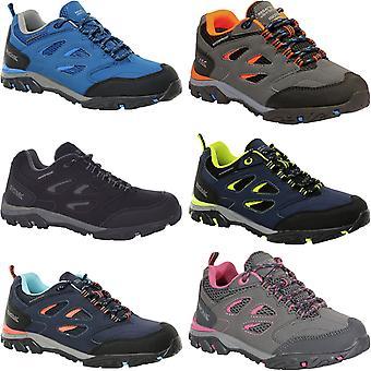 Regatta Kids Holcombe Low Rise Waterproof Outdoor Walking Hiking Trainers Shoes