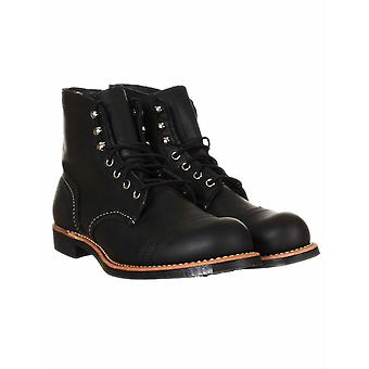 """Red Wing 8084 Heritage 6"""" Iron Ranger Boot - Black Harness"""