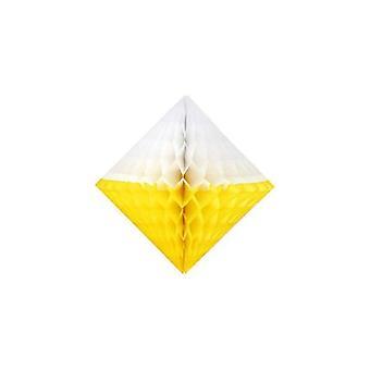 "Honeycomb Diamond 12"" Two Tone"