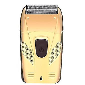 Elektrorasierer für Männer Rasierer Haarentfernung Bartschneider USB-Kabel retro Kolben Doppelschneider