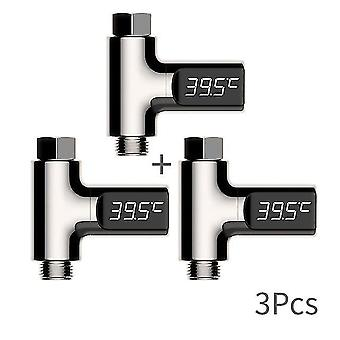 Led-Anzeige zu Hause Wasser Dusche Thermometer Temperatur Meter Monitor Küche Badezimmer Smart Home Baby