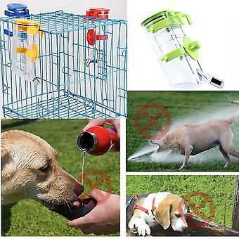 No Drip Dog Top-fill Water Bottle Drinker Pet Water Dispenser Water Feeder