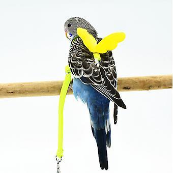 Verstellbares Vogelgeschirr für Papageientrainingsleine