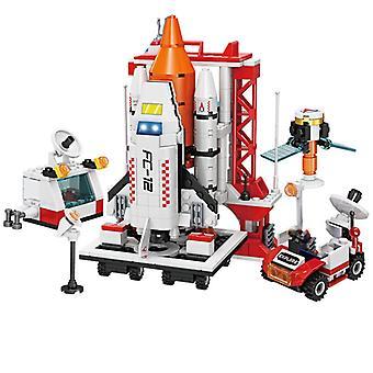 8 In 1 Space Base Diy Model Building Blocks Bricks Toy