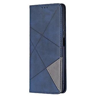 Etui do Xiaomi Mi 11t / 11t Pro Flip Cover Łączenie skóry Pu - niebieski