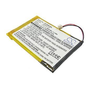 Battery for INSIGNIA Pilot NS-4V24 NS-8V24 E4H04-1-R MP3 Media Player 560mAh