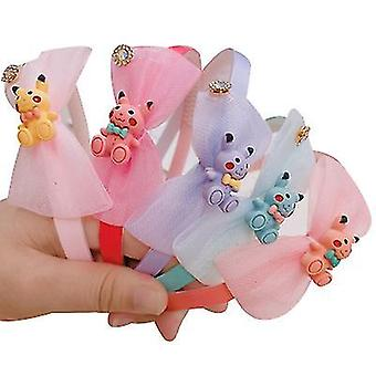 Children's Cute Hair Accessories Variety Of Cartoon Fruit Lace Bangs Hair Band(STYLE1)
