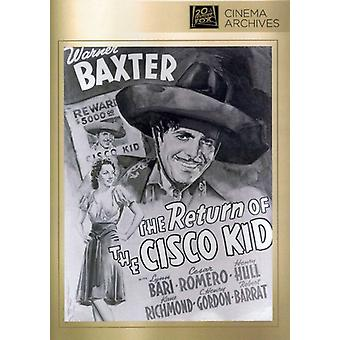 Return of the Cisco Kid [DVD] USA import