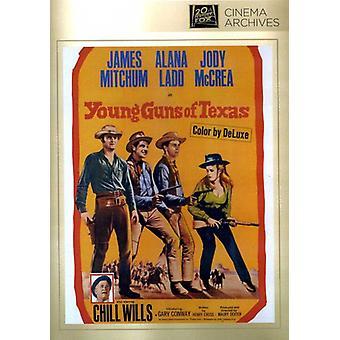 Young Guns of Texas [DVD] USA import