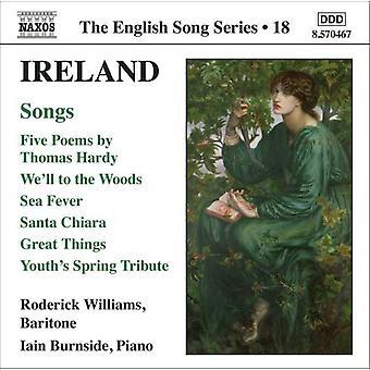 J. Ireland - Ireland: Songs [CD] USA import
