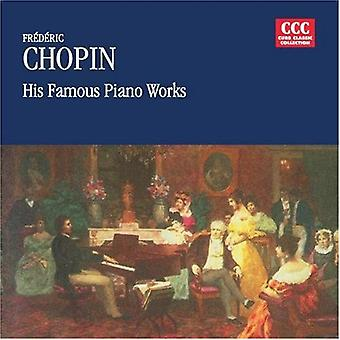 F. Chopin - Frederic Chopin: His Famous Piano Works [CD] USA import