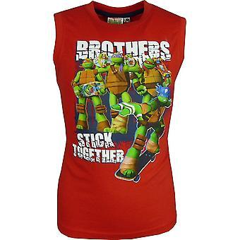 Niños Nickelodeon Ninja Turtles camiseta sin mangas-chaleco Top