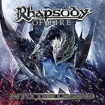 Rhapsody of Fire - osaksi legenda [CD] USA-tuonti