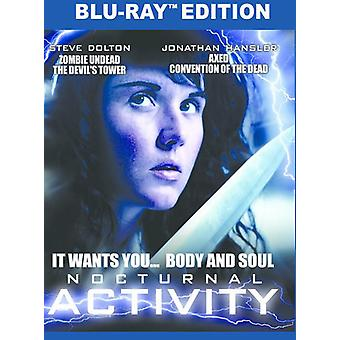 Nocturnal Activity [Blu-ray] USA import