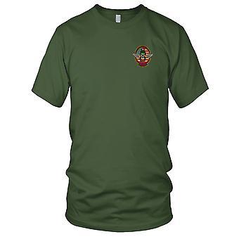 MACV-SOG RT Oregon CCC Recon - amerikanske spesialstyrker Grp Vietnamkrigen brodert Patch - Mens T-skjorte