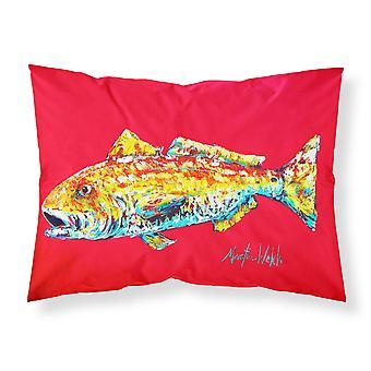 Fish - Red Fish Alphonzo Moisture wicking Fabric standard pillowcase