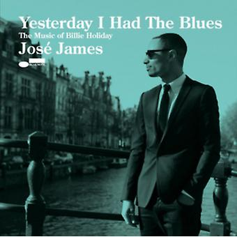 Gisteren Had ik de Blues: The Music Of Billie Holiday door José James